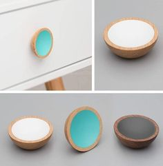 Danish designed knobs and wooden handles for IKEA hacks and cabinet makeovers - boho, Scandi-style and more. Cupboard Knobs, Cabinet Handles, Wooden Drawers, Wooden Handles, Three Color Combinations, Boho Theme, Dark Interiors, Door Furniture, Wood Colors