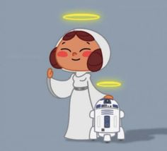 In honor to two of the original star wars cast, rest in peace R2 and Leia. We'll miss you both