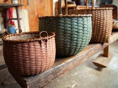 Should have actually taken that basket weaving class.... Love these #MadeInNewYork baskets! #CraftedInAmerica PureWow New York