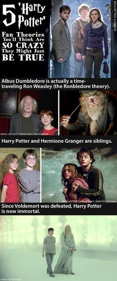 These Harry Potter fan theories are so crazy they might just be true! Click to check out the full list