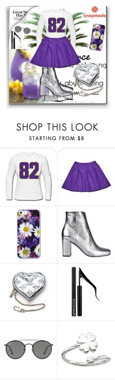 """""""Snapmade 10"""" by dinna-mehic ❤ liked on Polyvore featuring Prada, Yves Saint Laurent, Louis Vuitton, Forever 21, Ray-Ban, Alex and Ani and snapmade"""