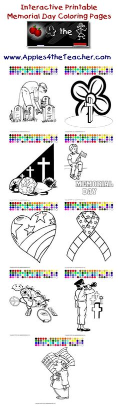 printable interactive memorial day coloring pages memorial day coloring pages for kids http