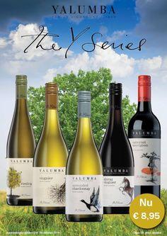 De Y-Series van Yalumba zijn een aantal wijnen die gemaakt zijn om de persoonlijke en kleurvolle 150-jarige geschiedenis van de Hill Smith familie van Yalumba weer te geven. Deze familie is de oudste familie met wijneigendom uit Australië. De Y-series wijnen zijn verse en smakelijke fruitige wijnen van constante kwaliteit. http://www.flesjewijn.com/yalumba+the+y+series