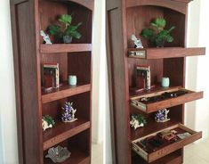 how to hide things secret hiding places 4 605 Even secret agents would be impressed by these hidden compartments Photos) Hidden Spaces, Hidden Rooms, Secret Storage, Hidden Storage, Extra Storage, Secret Compartment Furniture, Secret Hiding Spots, Hidden Gun, Hidden Compartments