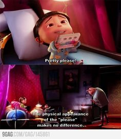 Despicable Me. ahhh love this movie!
