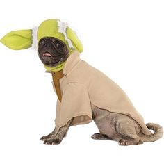 Yoda Dog Costume Size Small 11 L * Check this awesome product by going to the link at the image.