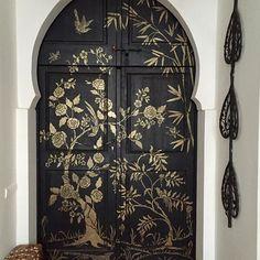 Door crush at peacock pavilion home interior design door moroccan