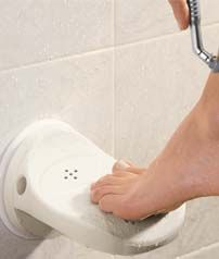 Foot rest for shaving your legs! - My-House-My-Home