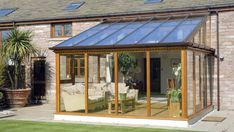 Pergola Ideas For Patio Refferal: 3905720928 Lean To Conservatory, Glass Conservatory, Conservatory Design, Terrace Design, Roof Design, Curved Pergola, Pergola With Roof, Cheap Pergola, Pergola Kits