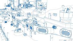 ArtStation - HMS RODNEY, Carlo Cestra Model Warships, Boat Projects, Royal Navy, Battleship, Wwii, Diagram, Drawings, Artwork, 3d