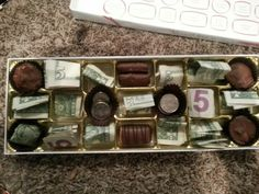 Creative money gift idea!