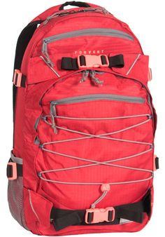 Forvert Ripstop-Louis, Backpack, red #Backpack #AccessoriesMale #titus #titusskateshop