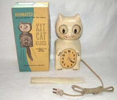 Ivory glow in the dark Kit Kat clock