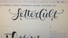 LetterCult -- an AMAZING font & an amazing typography website