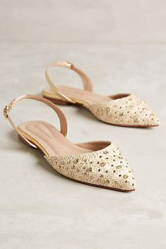 Raphaella Booz Jeweled Prinnia Slingbacks - anthropologie.com