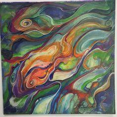 """6x6"""" hot press watercolor paper - mixed media (watercolor and color pencil)"""