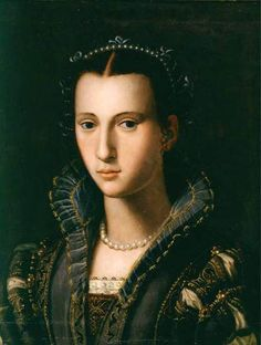 Eleonora di Medici; Her father was Francesco I di Medici, Grand Duke of Tuscany. She was married to Vincenzo I Gonzaga, Duke of Mantua.
