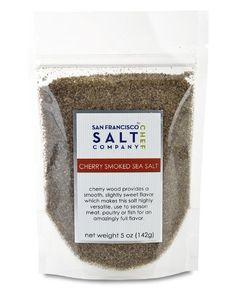 $6.99  Cherrywood Smoked Sea Salt (5oz Pouch - Fine Grain) San Francisco Salt Company http://www.amazon.com/dp/B00CWHX88K/ref=cm_sw_r_pi_dp_OFABwb05BH59S