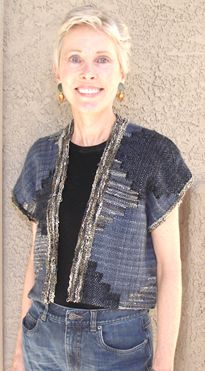 tapestry vest - Judith Shangold