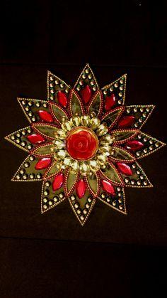 Rangoli, Kundan Rangoli, Indian Rangoli, Diwali, Home Decor, Traditional Kundan…