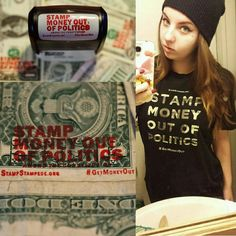 """Join us in the movement to #stampmoneyoutofpolitics @StampStampede"" | Twitter"