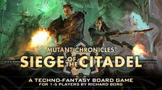 The miniatures boardgame set in the Mutant Chronicles Universe, designed by…