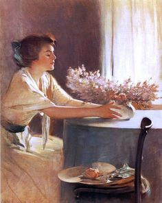 John White Alexander ~ Symbolist painter