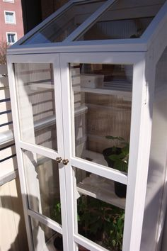 Växthus till balkongen
