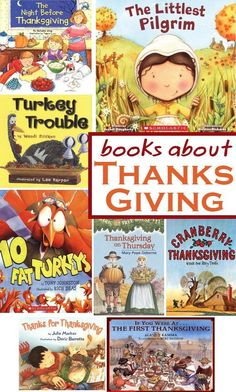 8 Great Books To Teach Your Kids About The Thanksgiving Story