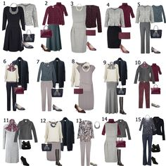 business capsule wardrobe