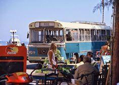 Χίου.  1993 Chios, The Old Days, Athens Greece, Greeks, Public Transport, Vintage Photos, Old School, Transportation, The Past