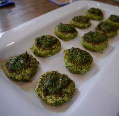 Brocolli Fritters