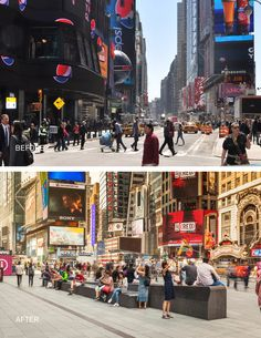 Times Square redesign by Snøhetta in New York, United States