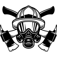 This Firefighter Logo Firefighting Helmet Axes Mask Shield Rescue Fireman Fighting Fight Fire Emergency .PNG Vector Cricut Cut Cutting is just one of the custom, handmade pieces you'll find in our craft supplies & tools shops. Firefighter Decals, Firefighter Drawing, Firefighter Symbol, Firefighter Pictures, Quilling 3d, Fire Department, Fire Dept, Vinyl Projects, Vinyl Designs