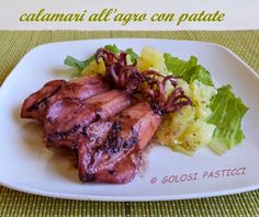 Calamari+all'agro+con+patate