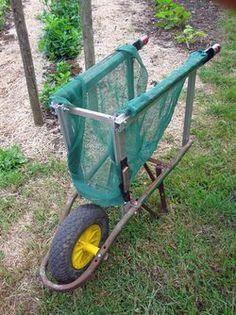 harvesting trolley