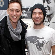 Feeling kinda shitty today so I probably won't be posting a lot. Have a great day! #charliecox #tomhiddleston