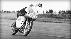 Mike Hailwood ~ Silverstone in 1960 ~ the Ducati 250 Desmo