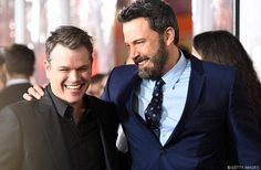 Ben Affleck Gets Support From Matt Damon at 'Live By Night' Premiere: Photo Ben Affleck suited up for the premiere of his new flick Live By Night! The actor hit the red carpet alongside his pal Matt Damon on Monday night… Angelina Jolie, Ben Affleck Jennifer Lopez, Matt Damon Ben Affleck, Matt Damon Movies, Street Film, Games To Win, Drama, Star Wars, Making A Movie