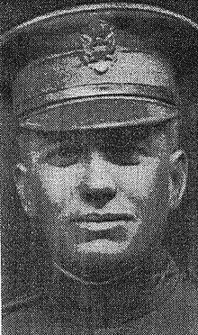 Second Lieutenant Albert Baesel requested permission to go to the rescue of the wounded Corporal. After thrice repeating his request and permission having been reluctantly given, due to the heavy artillery, rifle, and machinegun fire, and heavy deluge of gas in which the company was at the time, he worked his way forward, and reaching the wounded man, placed him upon his shoulders and was instantly killed by enemy fire. September 27, 1918