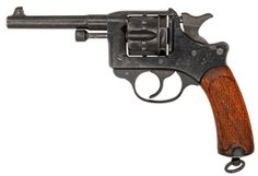 MAS Mle1892 revolver Made by the Manufacture d'Arme de St-Etienne c.1892-1924 - serial number H11373. 8mm French revolver six-round cylinder, double action/single action with rebounding hammer, Abadie system swing out cylinder.