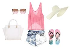 """""""getting ready for summer"""" by tmfarral ❤ liked on Polyvore"""