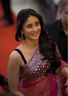 Kareena Kapoor looks pretty in saree.... #kareenakapoor #bebo #celebrities #bollywood