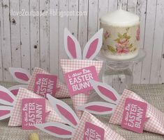 Easter Bunny Sour Cream Containers