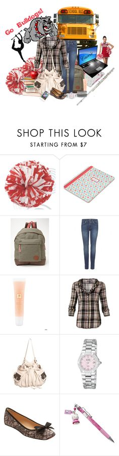 """""""Back To High School Set!"""" by goldieazcmd ❤ liked on Polyvore featuring Cath Kidston, Roxy, 7 For All Mankind, Lancôme, Tylie Malibu, Christian Louboutin, Harrods, Lane Bryant, modern and iphone"""