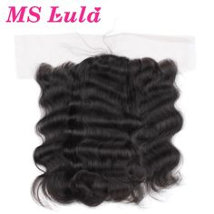 78.82$  Buy here - http://ali2yp.worldwells.pw/go.php?t=32276666143 - 7A Free Shipping Lace Closure brazilian virgin hair body wave lace frontal closure 4x13 size ear to ear no smell Ms Lula hair 78.82$