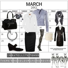 """""""Black and white town"""" by minaharker on Polyvore"""