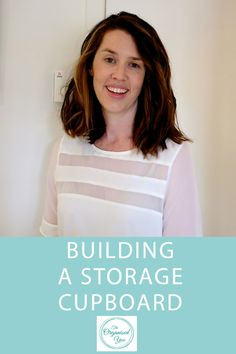 Video: Building a storage cupboard - A step-by-step look at the process for creating and building a storage cupboard to create a whole lot of extra storage space in the home