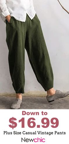 Trousers for boys and girls Unisex Cotton harem pants Cargo pants Kids Elastic waistband pants Olive Green Boy pants Kids Trousers