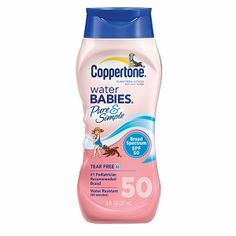 I'm learning all about Coppertone Water Babies Pure and Simple at @Influenster!
